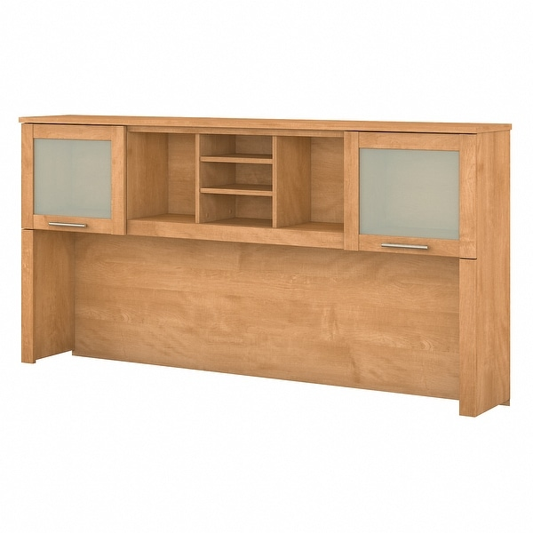 Strick & Bolton 72W Hutch for L Shaped Desk. Opens flyout.