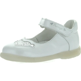 Primigi Girls Gioia Dress Casual Mary Jane Shoes - bianco