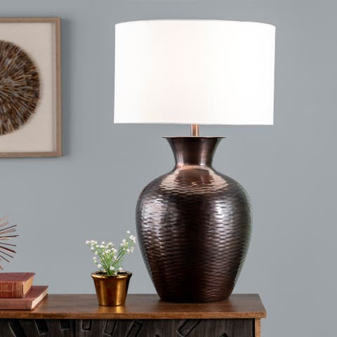 """nuLOOM Atmore 27"""" Iron Table Lamp"""