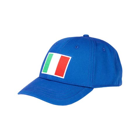 Nautica Mens Italy Ball Cap Flag Sports - O/S