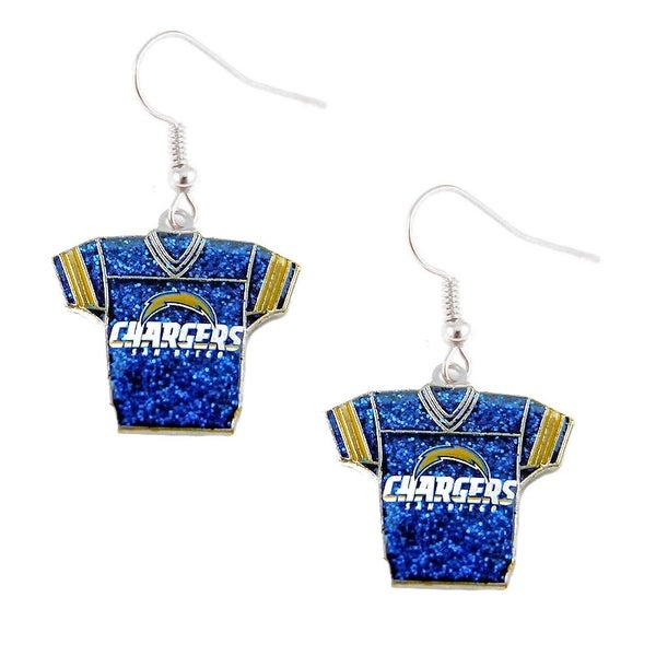 San Diego Chargers Founded: Shop NFL SAN Diego Chargers Glitter Jerseys Sparkle Dangle