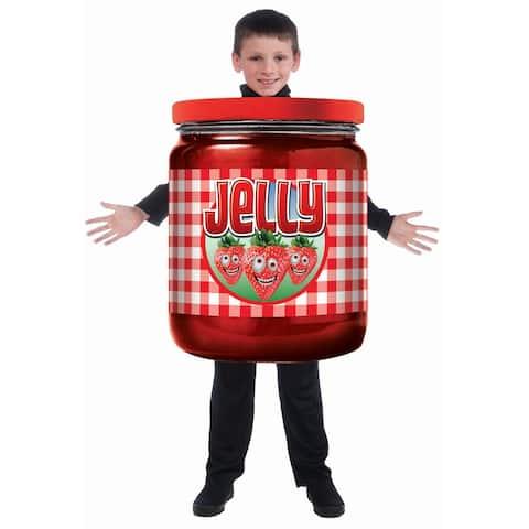 Child Jelly Jar Halloween Costume - Medium (size 7-10)