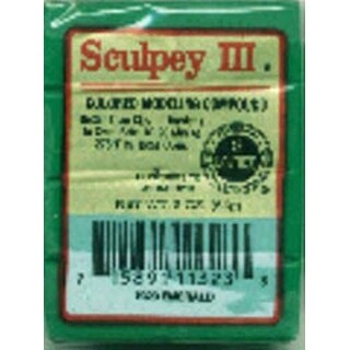 Emerald - Sculpey Iii Polymer Clay 2Oz
