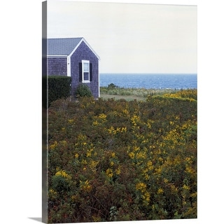 """""""House and open field"""" Canvas Wall Art"""