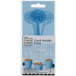 """Blue - Baby Favorites Card Holder Picks 6"""" 6/Pkg"""
