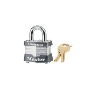 """Master Lock 3KA-3217 Laminated Steel Padlock, 1-1/2"""", Keyed Alike #3217"""