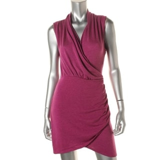 Tempted Womens Juniors Party Dress Ruched Sleeveless - M