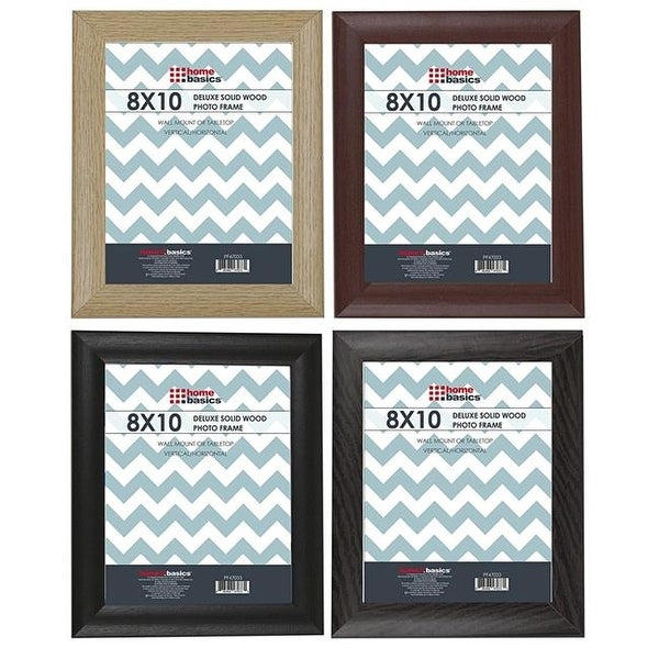 Shop Home Basics Pf47033 8 X 10 In Assorted Wooden Photo Frame