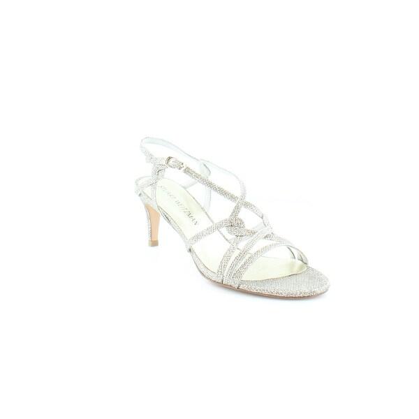 Stuart Weitzman On My Way Women's Sandals & Flip Flops Platinum - 7.5