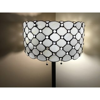 Tiffany Style Jeweled Floor Lamp Free Shipping Today 4450322