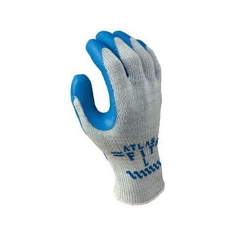 Atlas 300L-09.RT Fit Gloves, Gray W/Blue