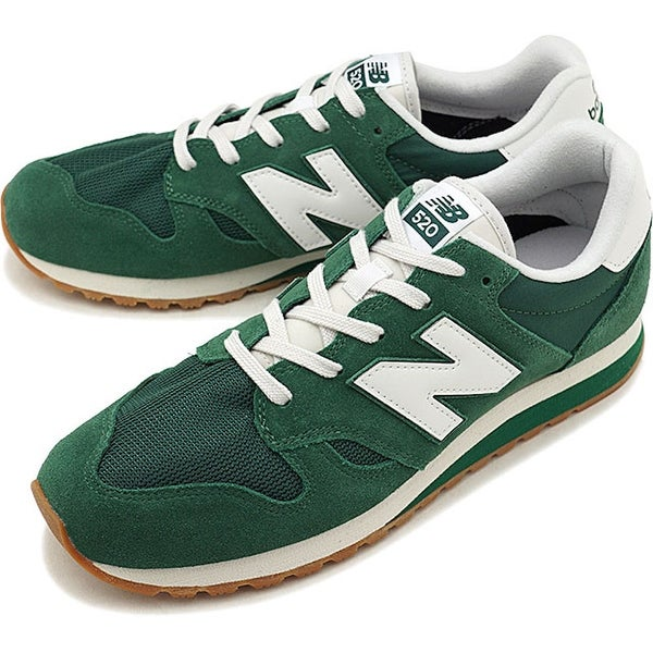 39b8813a1a1a Shop New Balance Mens 520v1 Leather Low Top Lace Up Running Sneaker ...