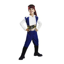 Disney Pirates of the Caribbean On Stranger Tides Jack Sparrow Child Costume Size S (4-6)