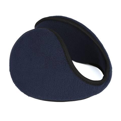 Outdoor Activities Warm Ear Earmuffs Winter for Men Women Dark Blue-1