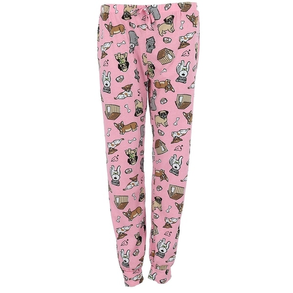 Roll Outta Bed Junior's Plus Size Banded Bottom Jogger Pajama Pants