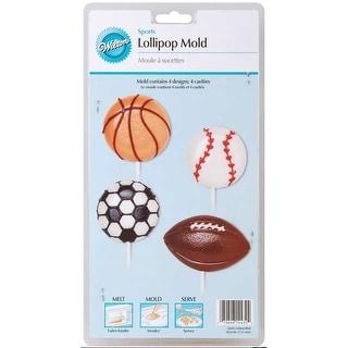 Lollipop Mold-Sports 4 Cavity (4 Designs)