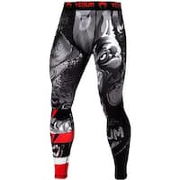 Venum Werewolf Dry Tech MMA Compression Spats - Black/Gray