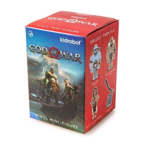 """God of War 3"""" Blind Box Vinyl Figure, One Random - Multi"""