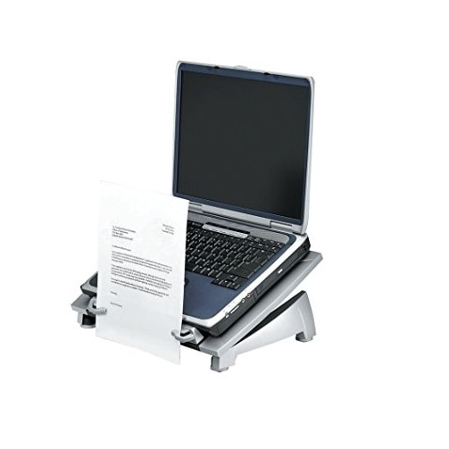 Fellowes 8036701 Office Suites Laptop Riser Plus Copyholder