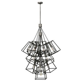 Hinkley Lighting 3358 13 Light Large Multi Light Pendant from the Fulton Collection (2 options available)