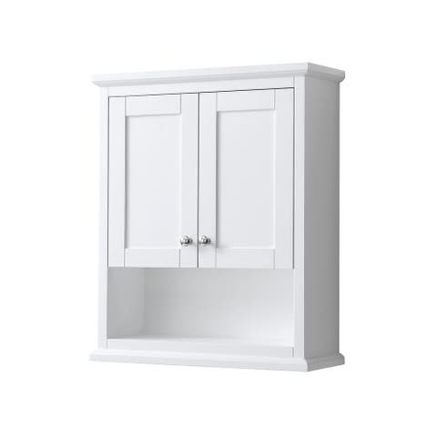 Avery Wall-Mounted Bathroom Storage Cabinet