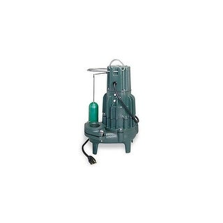 Zoeller 292-0001 1/2 HP 115V Automatic Submersible Sewage Pump