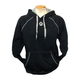 HOOey Western Hoodie Mens Athletic Black Gray HH1120BK