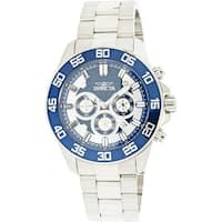 Invicta Men's Pro Diver  Silver Stainless-Steel Diving Watch
