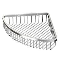 Gatco 1571 12 Inch Corner Shower Basket - satin nickel - N/A