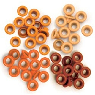 Orange - Eyelets Standard 60/Pkg