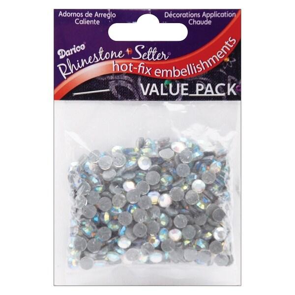 Rhinestone Setter Hot-Fix Glass Stones 5mm 400/Pkg-Crystal AB