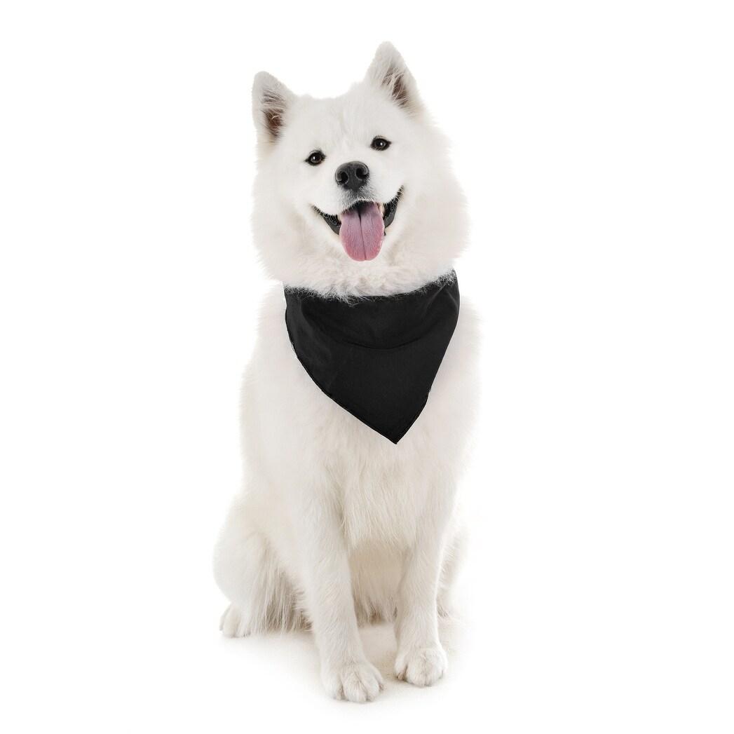 Triangle Printing Bibs Cotton Kerchief for Medium//Large Puppies Washable /& Reversible Pet Neckerchief Scarf Bow Tie Kuoser 4 Packs Dog Bandanas Birthday Gift