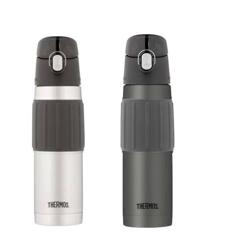 b02a5d6a01 Thermos Vacuum Insulated 18 Ounce Stainless Steel Hydration Bottle 2PK