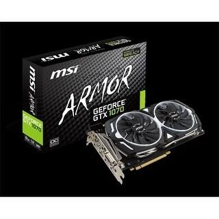 MSI Video GTX 1070 ARMOR 8G OC GeForce 8 GB Armor OC Video Card