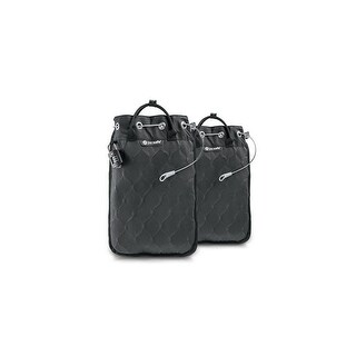 Pacsafe Travelsafe 5L GII - Portable Safe w/ iPad Compatible Sleeve (2 Pack)