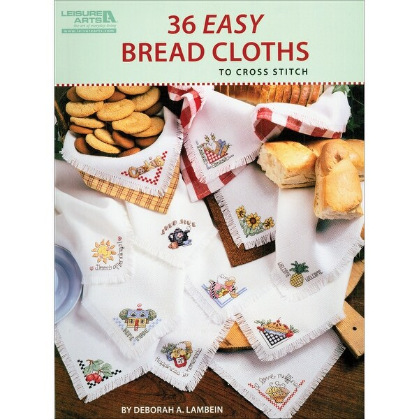 Leisure Arts-36 Easy Bread Cloths
