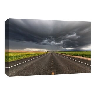 """PTM Images 9-147956  PTM Canvas Collection 8"""" x 10"""" - """"Thunder"""" Giclee Roads & Paths Art Print on Canvas"""