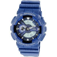 Casio Men's G-Shock  Blue Resin Japanese Quartz Sport Watch