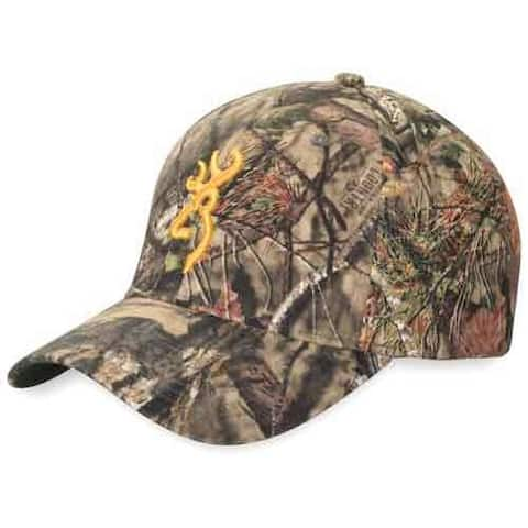 Browning 308379281 bg rimfire cap buck mark logo mobuc hook and loop back