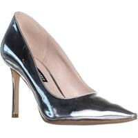 Nine West Emmala Pointed Toe Classic Pumps, Silver