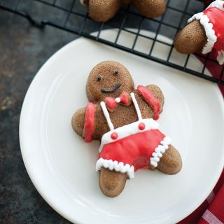 Link to Nordic Ware 86948 Gingerbread Kids Cakelet Pan Similar Items in Bakeware