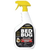 Harris BLKBB-32 Egg Kill & Resistant Bed Bug Killer Liquid Spray, 32 Oz
