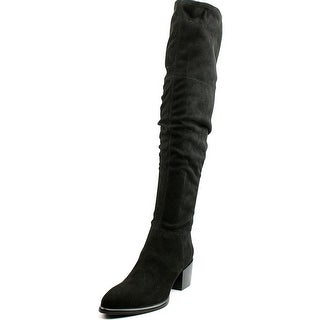 Calvin Klein Jeans Nivah Round Toe Synthetic Over the Knee Boot