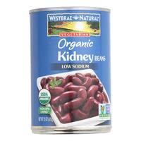 Westbrae Foods Organic Kidney Beans - Case of 12 - 15 oz.