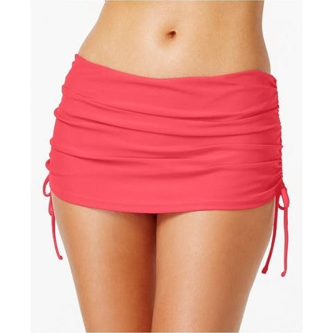Island Escape Plus Women's Side-Tie Swim Skirt,18