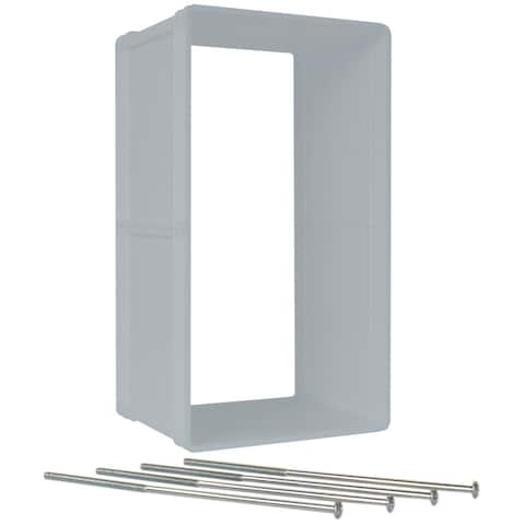 Ideal Pet Products Ruff-Weather Wall Kit Grey