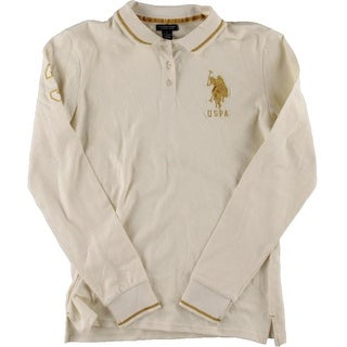 U.S. Polo Assn. Boys Metallic Long Sleeves Casual Shirt - L