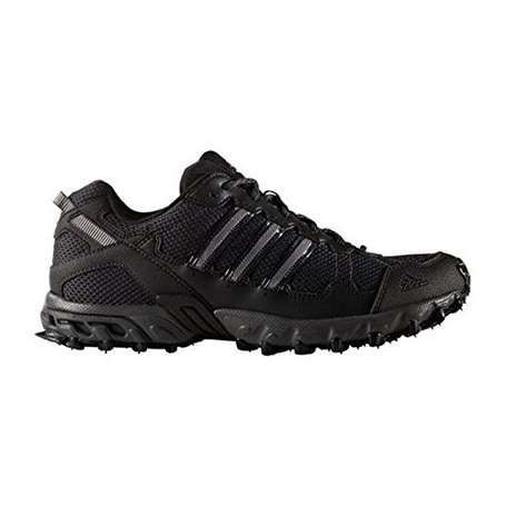fa9de37a72c Shop adidas Men's Rockadia Trail M Running Shoe, Black/Dark Grey Heather -  Free Shipping Today - Overstock - 20976181