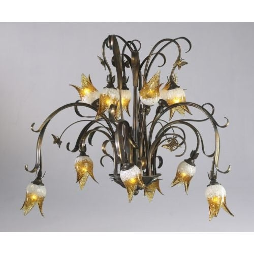 Cyan design 6406 12 93 12 light down lighting chandelier from the cyan design 6406 12 93 12 light down lighting chandelier from the papillion collection free shipping today overstock 19772445 aloadofball Images