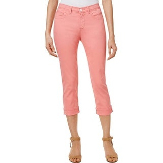 Lee Womens Jeans Cropped Colored Wash
